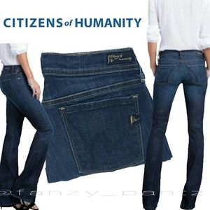 Citizens of Humanity Ingrid Low Flare stretch jean